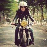 Mercenary Cafe Racer Girl Vietnam